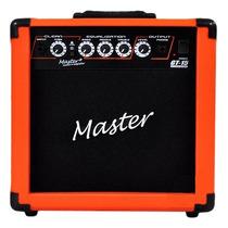 Master Audio Gt-15 Cubo Guitarra 15w Laranja - Frete Grátis