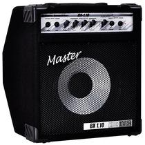 Cubo Amplificador Para Baixo Master Bx1.10 60 W De Potência