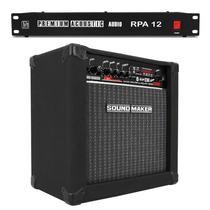 Caixa Amplificada Sound Maker Guitarra + Filtro Linha