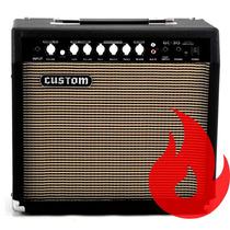 Amw Custom Gc-30 . Cubo Amplificador De Guitarra 10