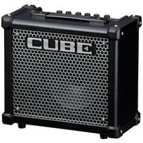 Amplificador De Guitarra Roland Cube-10gx + Garantia 1 Ano