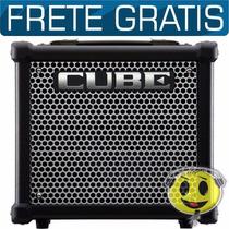 Cubo Amplificador Guitarra Roland Cube 10gx Loja Oferta