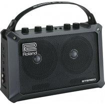 Amplificador Roland Mobile Cube Para Guitarra Violão Teclado