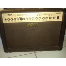 Mega Ac-60r Amplificador Para Violão