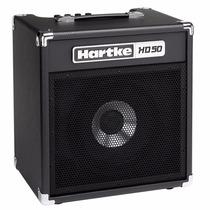 Amplificador Cubo Combo Hartke Hd 50 W P/ Baixo Hd50 1x10