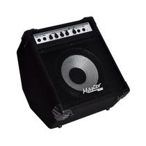 Amplificador Cubo Master Audio Bx1.10 - 60w Baixo +garantia