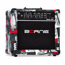 Amplificador Cubo Guitarra Borne G30 Distorção Frete Gratis