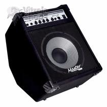 Amplificador Cubo Para Baixo 100w Master Audio Bx100 Combo