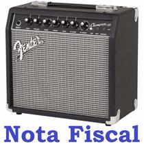 Cubo Amplificador Fender Champion 20 Guitarra Nfe Garantia