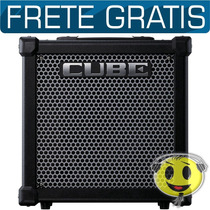 Cubo Amplificador Guitarra Roland Cube 20gx Loja Oferta