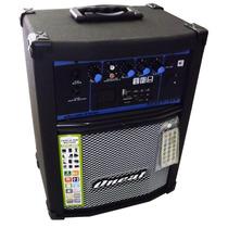 Caixa Amplificada Multiuso Oneal 50w Ocm-280 Usb Sd Mp3