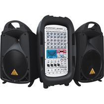 Mixer Ampl. Behringer Epa900 Europort 8 Canais 900w, 8647