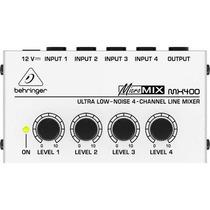 Amplificador 110v - Mx 400 Micro Mix - Behringer