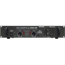 Ciclotron W Power 3300ab Potência Amplificador Frete Grátis