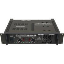 Amplificador De Potência Ciclotron Vpower 6800/4 1.700 Watts