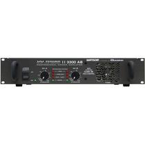 Amplificador De Potência W Power Ll 3300 Ab Ciclotron Wattso