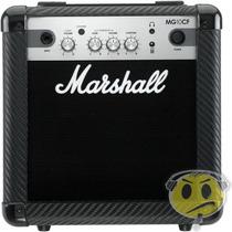 Cubo Amplificador Guitarra Marshall Mg10cf Mp3 2 Canais