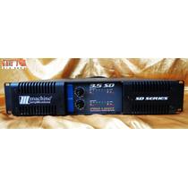 Amplificador De Pot?ncia Machine Sd 3.5 Pro 2400w Rms