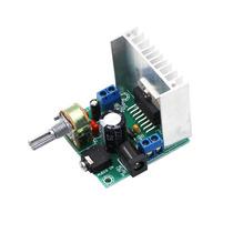 Módulo Painel Digital Audio Amplificador Tda7297 Versão 2
