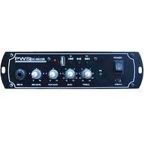 Mixer Amplificado Dc-80 Para Carro De Som / Propagandista