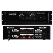 Amplificador Potência Profissional Stéreo Mk2400 400 Watts