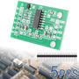 5x Pesando Sensor Ad Módulo Dual-channel 24-bit A / D Conve
