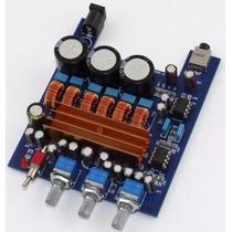 Amplificador Digital Modulo 200w Rms 2.1 Subwoofer