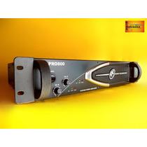 Amplificador Potência Ll Audio Pro800 200 Watts Rms Garantia