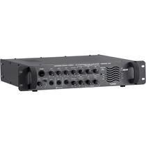 Amplificador Nca Som Ambiente Pré E Gongo Pwm300 70 Volts