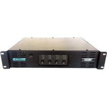 Amplificador Sender 4 Canais - Potencia De 3200w Rms