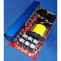Fonte Chaveada 1k2 Para Amplificadores Ate 2500w Digital