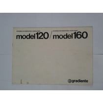 Manual Original Amplificador Gradiente Model 120.160.
