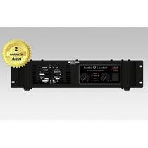 Amplificador Áudio Leader Al2000 2000w Rms 4ohms 2a Garantia