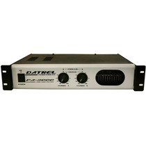 Amplificador De Potencia Profissional - 400w Rms - Pa3000