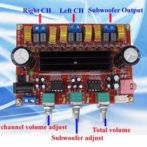 Placa Amplificadora Home 200w Subwoofer 2.1 Canais Xh-m139