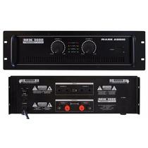 Amplificador Potência Mark Audio Mk3600 600w P R O M O Ç Ã O