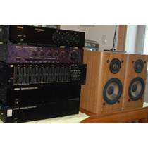 Amplificador Préamplificador Crossover Nashville Na1600