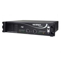 Amplificador Etelj Nitro 6400- 1600 Wts Rms 4ohms