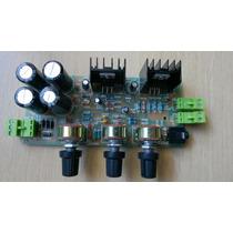 Kit Placa Montada Amplificador Estéreo - 36 Watts Rms