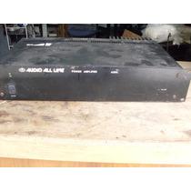 Amplificador De Potência Mono,audio All Line Mod.a 200l