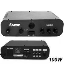 Amplificador Nca Ab100 R4 Som Ambiente