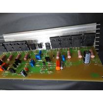 Amplificador 500w Kit Para Montar / Gradiente-166-246/366