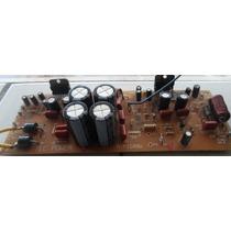 Placa Ampl Da Potencia Tecpower 500wts, Pequeno Reparo
