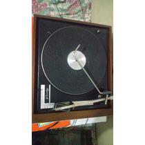 Toca Disco Garrard 6300 Gradiente Vitrola