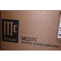 Amplificador Mcintosh Mc 275 Mk 5 (novo)