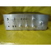 Amplif. Vintage Gradiente Model 120 Prata - Perfeito - Ok.