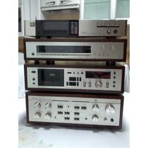 Luxman Cj Amplificador Integrado Deck Sintonizador E Equaliz
