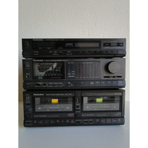 System One Technics Amplificador Receiver Tape-deck