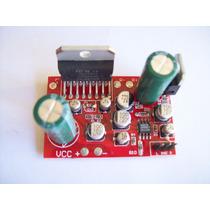 Placa Amplificador Tda7377 35w+35w Rms Estéreo