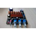 Kit Placa Montada Amplificador 2.1 - 50w+50w+100w Rms